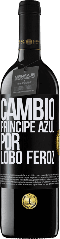29,95 € Free Shipping | Red Wine RED Edition Crianza 6 Months Change blue prince for fierce wolf Black Label. Customizable label Aging in oak barrels 6 Months Harvest 2018 Tempranillo