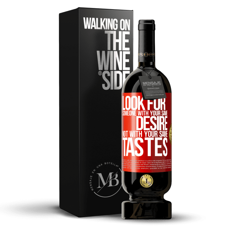 29,95 € Free Shipping   Red Wine Premium Edition MBS® Reserva Look for someone with your same desire, not with your same tastes Red Label. Customizable label Reserva 12 Months Harvest 2013 Tempranillo