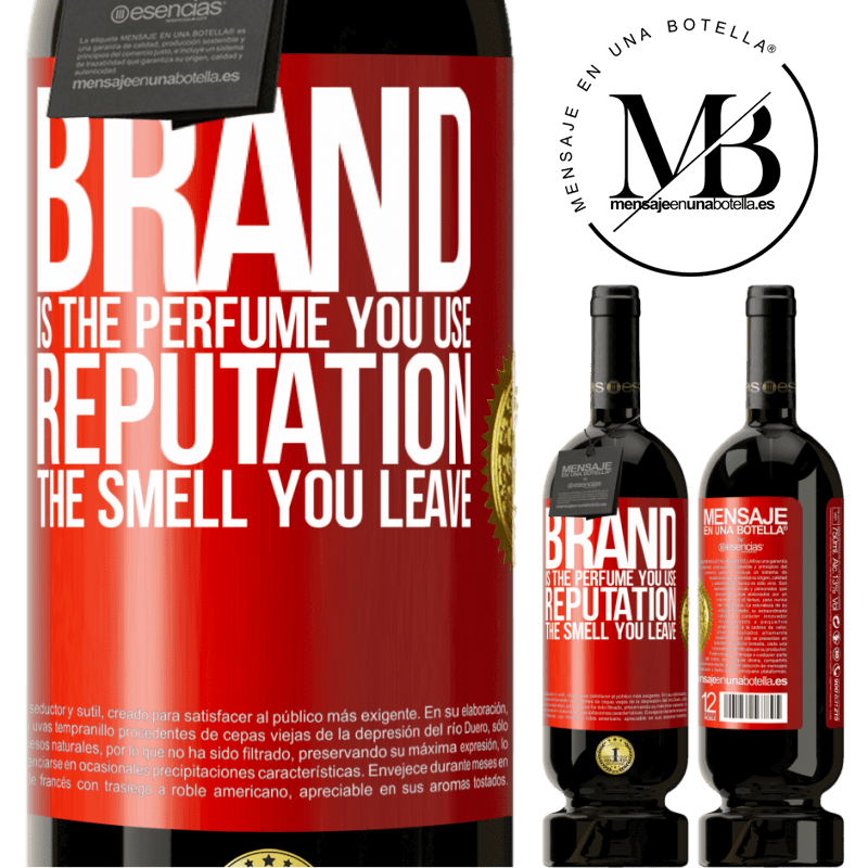 29,95 € Free Shipping | Red Wine Premium Edition MBS® Reserva Brand is the perfume you use. Reputation, the smell you leave Red Label. Customizable label Reserva 12 Months Harvest 2013 Tempranillo