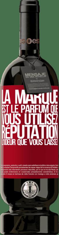 29,95 € Envoi gratuit   Vin rouge Édition Premium MBS® Reserva La marque est le parfum que vous utilisez. Réputation, l'odeur que vous laissez Étiquette Rouge. Étiquette personnalisable Reserva 12 Mois Récolte 2013 Tempranillo