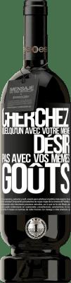 29,95 € Envoi gratuit | Vin rouge Édition Premium MBS® Reserva Cherchez quelqu'un avec votre même désir, pas avec vos mêmes goûts Étiquette Noire. Étiquette personnalisable Reserva 12 Mois Récolte 2013 Tempranillo
