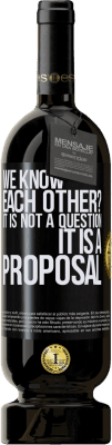 29,95 € Free Shipping | Red Wine Premium Edition MBS® Reserva We know each other? It is not a question, it is a proposal Black Label. Customizable label Reserva 12 Months Harvest 2013 Tempranillo