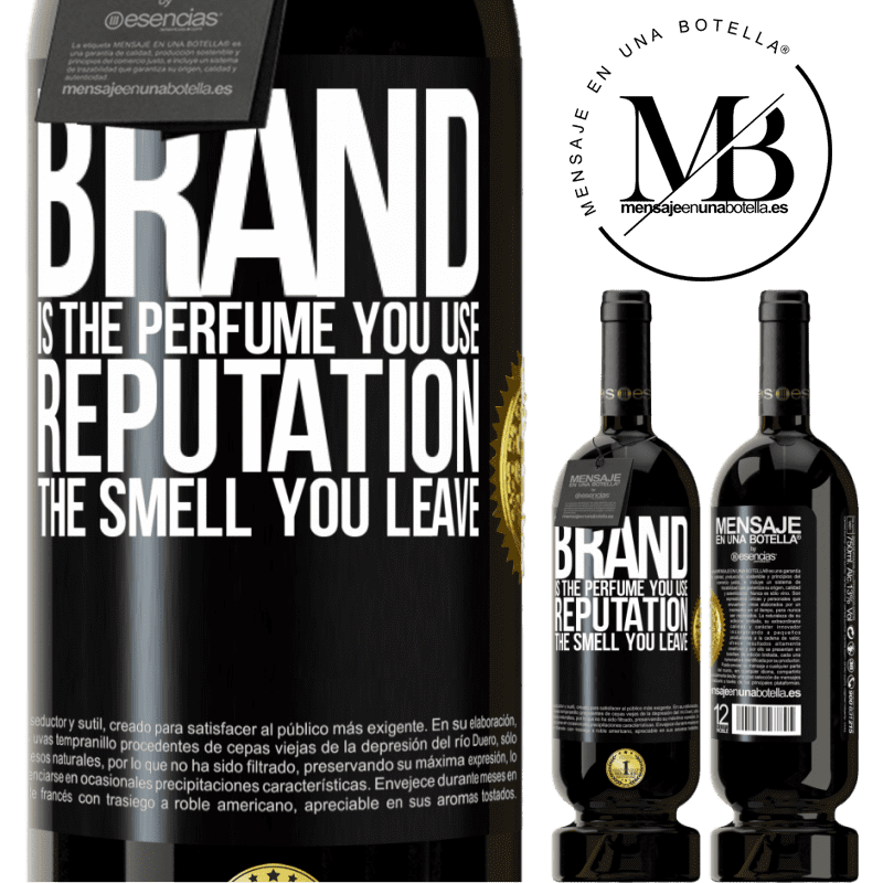 29,95 € Free Shipping | Red Wine Premium Edition MBS® Reserva Brand is the perfume you use. Reputation, the smell you leave Black Label. Customizable label Reserva 12 Months Harvest 2013 Tempranillo