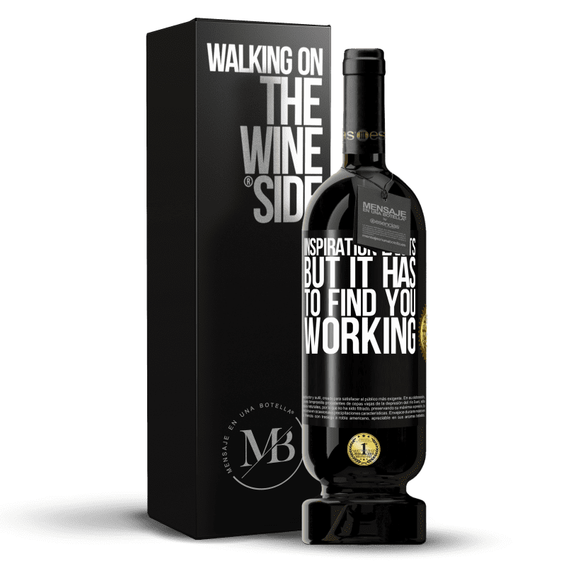 29,95 € Free Shipping | Red Wine Premium Edition MBS® Reserva Inspiration exists, but it has to find you working Black Label. Customizable label Reserva 12 Months Harvest 2013 Tempranillo