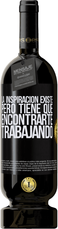 35,95 € Free Shipping   Red Wine Premium Edition MBS® Reserva Inspiration exists, but it has to find you working Black Label. Customizable label Reserva 12 Months Harvest 2013 Tempranillo