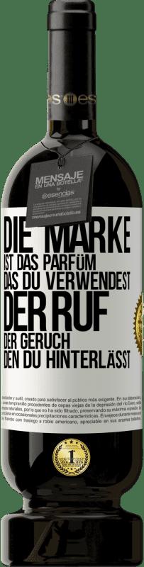 29,95 € Kostenloser Versand | Rotwein Premium Edition MBS® Reserva Marke ist das Parfüm, das Sie verwenden. Ruf, der Geruch, den du hinterlässt Weißes Etikett. Anpassbares Etikett Reserva 12 Monate Ernte 2013 Tempranillo