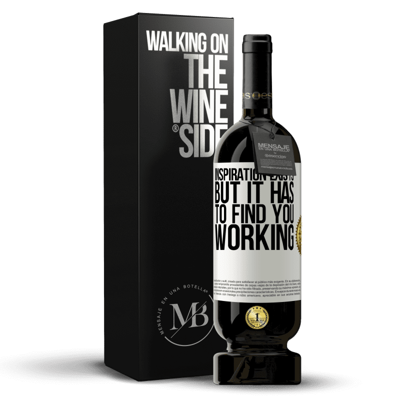 29,95 € Free Shipping | Red Wine Premium Edition MBS® Reserva Inspiration exists, but it has to find you working White Label. Customizable label Reserva 12 Months Harvest 2013 Tempranillo