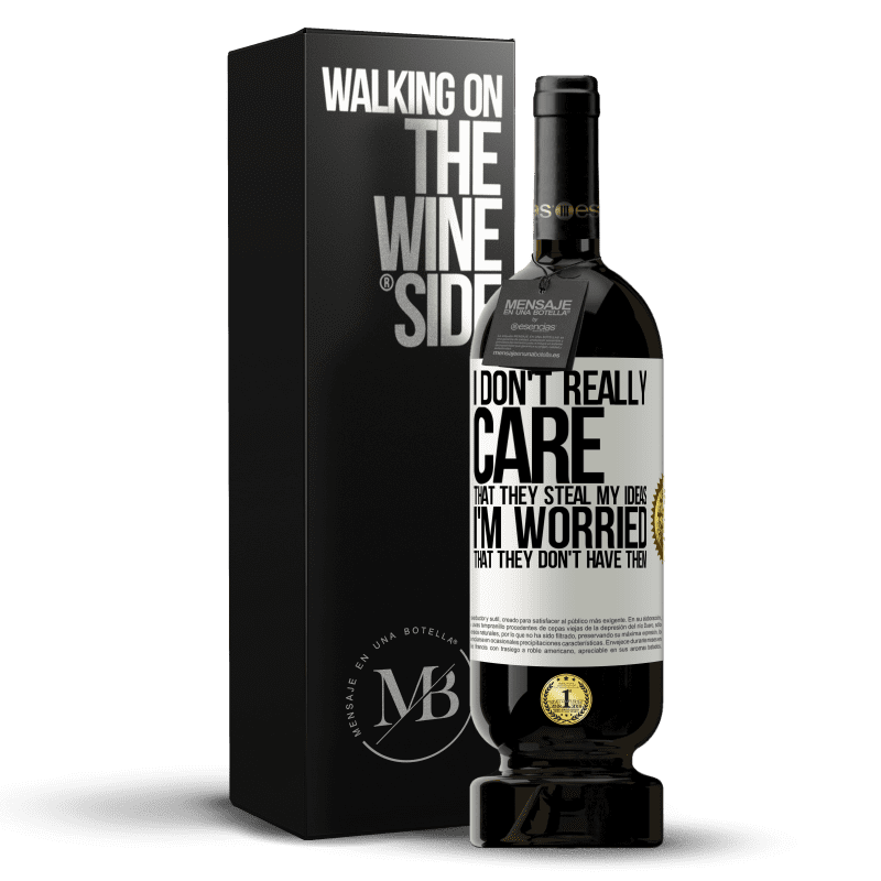 29,95 € Free Shipping | Red Wine Premium Edition MBS® Reserva I don't really care that they steal my ideas, I'm worried that they don't have them White Label. Customizable label Reserva 12 Months Harvest 2013 Tempranillo