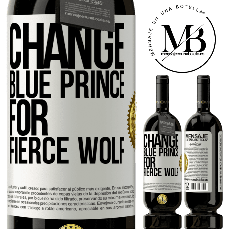 29,95 € Free Shipping | Red Wine Premium Edition MBS® Reserva Change blue prince for fierce wolf White Label. Customizable label Reserva 12 Months Harvest 2013 Tempranillo