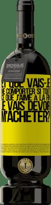 24,95 € Envoi gratuit | Vin rouge Édition Premium RED MBS et que vais-je me comporter si tout ce que j'aime à la fin, je vais devoir m'acheter? Étiquette Jaune. Étiquette personnalisée I.G.P. Vino de la Tierra de Castilla y León Vieillissement en fûts de chêne 12 Mois Espagne Tempranillo