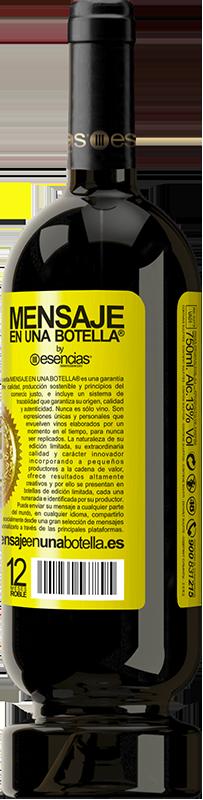 29,95 € Envoi gratuit   Vin rouge Édition Premium MBS® Reserva L'inspiration existe, mais elle doit vous trouver en train de travailler Étiquette Jaune. Étiquette personnalisable Reserva 12 Mois Récolte 2013 Tempranillo