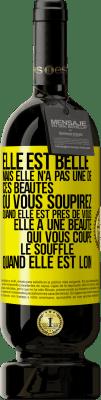 24,95 € Envoi gratuit   Vin rouge Édition Premium RED MBS Elle est jolie. Mais ce n'est pas joli de ceux que vous avez de près et soupirez. Magnifique de ces autres, que tu as loin Étiquette Jaune. Étiquette personnalisée I.G.P. Vino de la Tierra de Castilla y León Vieillissement en fûts de chêne 12 Mois Espagne Tempranillo
