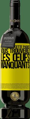29,95 € Envoi gratuit | Vin rouge Édition Premium MBS® Reserva J'espère que cette Pâques, vous trouverez les œufs manquants Étiquette Jaune. Étiquette personnalisable Reserva 12 Mois Récolte 2013 Tempranillo