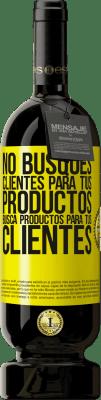 29,95 € Envío gratis   Vino Tinto Edición Premium MBS® Reserva No busques clientes para tus productos, busca productos para tus clientes Etiqueta Amarilla. Etiqueta personalizable Reserva 12 Meses Cosecha 2013 Tempranillo