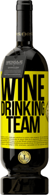 24,95 € Free Shipping | Red Wine Premium Edition RED MBS Wine drinking team Yellow Label. Customized label I.G.P. Vino de la Tierra de Castilla y León Aging in oak barrels 12 Months Harvest 2016 Spain Tempranillo