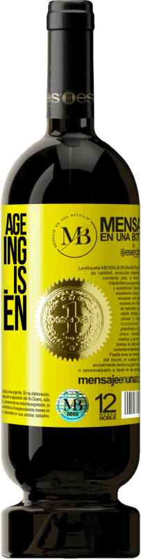 24,95 € Free Shipping | Red Wine Premium Edition RED MBS At a certain age, the morning after pill is ibuprofen Yellow Label. Customized label I.G.P. Vino de la Tierra de Castilla y León Aging in oak barrels 12 Months Harvest 2016 Spain Tempranillo