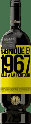 29,95 € Envoi gratuit | Vin rouge Édition Premium MBS® Reserva Fabriqué en 1967. Vieilli à la perfection Étiquette Jaune. Étiquette personnalisable Reserva 12 Mois Récolte 2013 Tempranillo