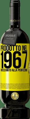 24,95 € Spedizione Gratuita   Vino rosso Edizione Premium RED MBS Prodotto nel 1967. Invecchiato alla perfezione Etichetta Gialla. Etichetta personalizzata I.G.P. Vino de la Tierra de Castilla y León Invecchiamento in botti di rovere 12 Mesi Raccogliere 2016 Spagna Tempranillo