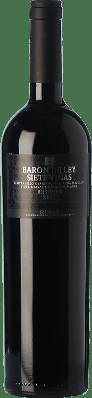 24,95 € Free Shipping   Red wine Barón de Ley 7 Viñas Reserva D.O.Ca. Rioja The Rioja Spain Tempranillo, Grenache, Graciano, Mazuelo, Viura, Malvasía Bottle 75 cl