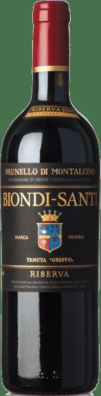 442,95 € Free Shipping   Red wine Biondi Santi Riserva Reserva D.O.C.G. Brunello di Montalcino Tuscany Italy Sangiovese Bottle 75 cl