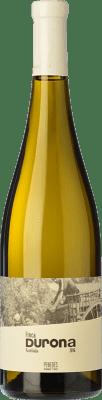 14,95 € Free Shipping | White wine Mont-Rubí Finca Durona Blanc Crianza D.O. Penedès Catalonia Spain Parellada Bottle 75 cl