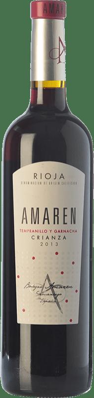 14,95 € Free Shipping   Red wine Amaren Crianza D.O.Ca. Rioja The Rioja Spain Tempranillo, Grenache Bottle 75 cl