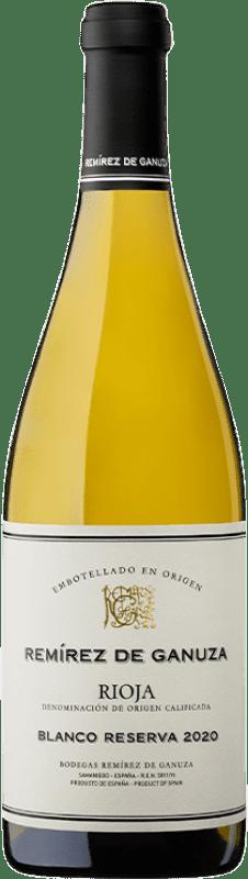 62,95 € Free Shipping   White wine Remírez de Ganuza Blanco Reserva D.O.Ca. Rioja The Rioja Spain Grenache, Viura, Malvasía Bottle 75 cl