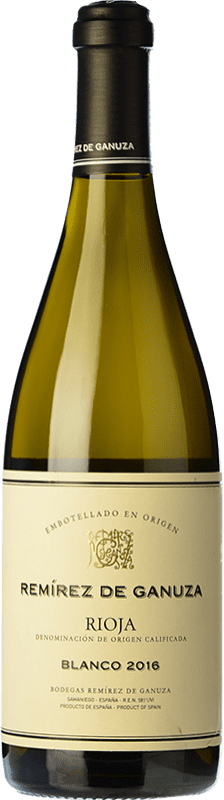 26,95 € Free Shipping   White wine Remírez de Ganuza Blanco Fermentado en Barrica Crianza D.O.Ca. Rioja The Rioja Spain Grenache, Viura, Malvasía Bottle 75 cl