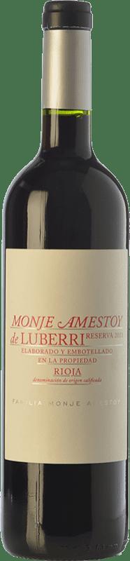 18,95 € Free Shipping | Red wine Luberri Reserva D.O.Ca. Rioja The Rioja Spain Tempranillo, Cabernet Sauvignon Bottle 75 cl