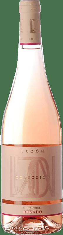 7,95 € Free Shipping | Rosé wine Luzón Colección Rosado D.O. Jumilla Castilla la Mancha Spain Monastrell Bottle 75 cl