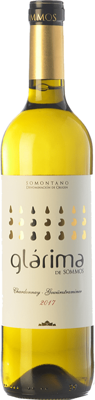 4,95 € Free Shipping | White wine Sommos Glárima Gewürztraminer Chardonnay D.O. Somontano Catalonia Spain Chardonnay, Gewürztraminer Bottle 75 cl