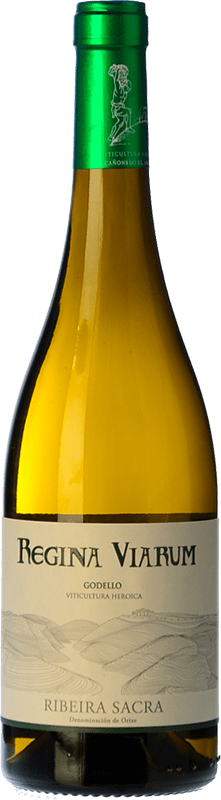 14,95 € Free Shipping | White wine Regina Viarum Crianza D.O. Ribeira Sacra Galicia Spain Godello Bottle 75 cl