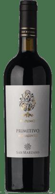 14,95 € Free Shipping | Red wine San Marzano Primitivo Il Pumo I.G.T. Salento Puglia Italy Primitivo Bottle 75 cl