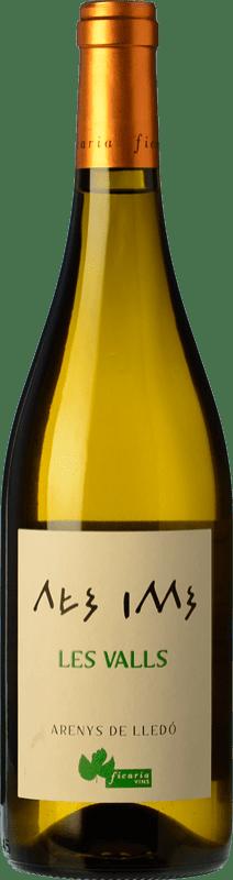 11,95 € Free Shipping | White wine Ficaria Les Valls Blanco Crianza Spain Grenache White Bottle 75 cl