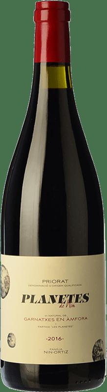 27,95 € Free Shipping | Red wine Nin-Ortiz Planetes de Nin Garnatxa Vi Natural d'Àmfora Crianza D.O.Ca. Priorat Catalonia Spain Grenache Bottle 75 cl
