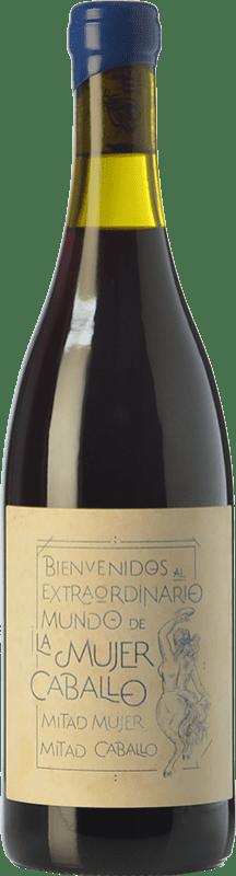 28,95 € Free Shipping   Red wine Fil'Oxera La Mujer Caballo Azul Crianza D.O. Valencia Valencian Community Spain Arco Bottle 75 cl