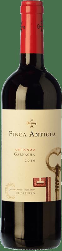 6,95 € Free Shipping | Red wine Finca Antigua Crianza D.O. La Mancha Castilla la Mancha Spain Grenache Bottle 75 cl