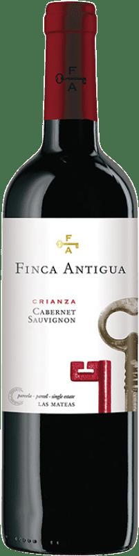 6,95 € Free Shipping | Red wine Finca Antigua Crianza D.O. La Mancha Castilla la Mancha Spain Cabernet Sauvignon Bottle 75 cl
