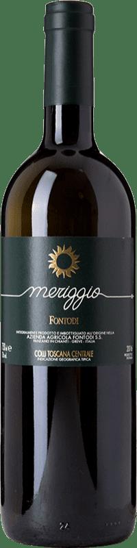22,95 € Free Shipping | White wine Fontodi Meriggio I.G.T. Colli della Toscana Centrale Tuscany Italy Sauvignon White Bottle 75 cl