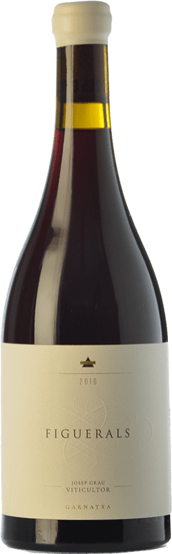36,95 € Free Shipping | Red wine Josep Grau Figuerals Crianza D.O. Montsant Catalonia Spain Grenache Bottle 75 cl