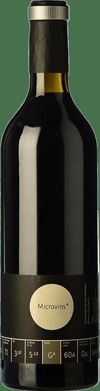 17,95 € Free Shipping | Red wine La Vinyeta Microvins Garnatxa Negra Àmfora Crianza D.O. Empordà Catalonia Spain Grenache Bottle 75 cl