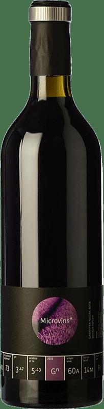 16,95 € Free Shipping | Red wine La Vinyeta Microvins Garnatxa Negra Crianza D.O. Empordà Catalonia Spain Grenache Bottle 75 cl