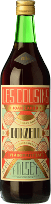 12,95 € Free Shipping | Vermouth Les Cousins Donzell D.O. Catalunya Catalonia Spain Bottle 70 cl