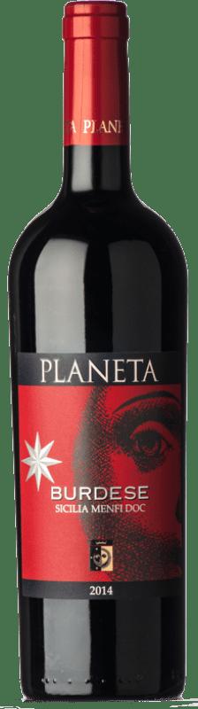 22,95 € Free Shipping   Red wine Planeta Burdese D.O.C. Menfi Sicily Italy Cabernet Sauvignon, Cabernet Franc Bottle 75 cl