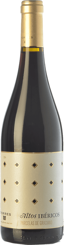 19,95 € Free Shipping | Red wine Torres Altos Ibéricos Parcelas de Graciano Crianza D.O.Ca. Rioja The Rioja Spain Graciano Bottle 75 cl