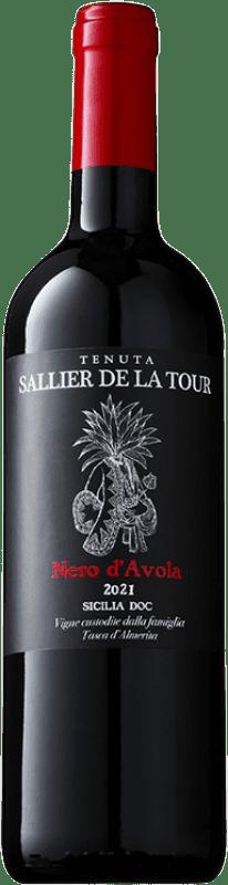 9,95 € Free Shipping   Red wine Tasca d'Almerita Sallier de la Tour D.O.C. Sicilia Sicily Italy Nero d'Avola Bottle 75 cl