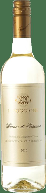 11,95 € Free Shipping | White wine Il Poggione Bianco I.G.T. Toscana Tuscany Italy Chardonnay, Vermentino Bottle 75 cl