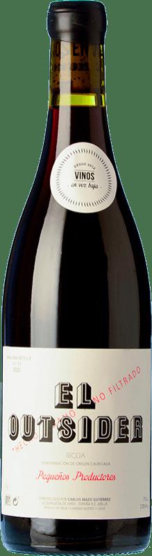 15,95 € Free Shipping   Red wine En Voz Baja El Outsider Roble D.O.Ca. Rioja The Rioja Spain Grenache Bottle 75 cl