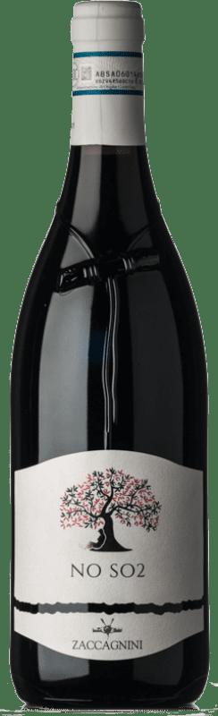 8,95 € Free Shipping | Red wine Zaccagnini NO SO2 D.O.C. Montepulciano d'Abruzzo Abruzzo Italy Montepulciano Bottle 75 cl