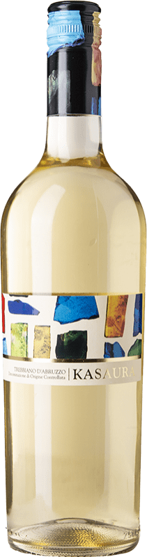 5,95 € Free Shipping | White wine Zaccagnini Kasaura D.O.C. Trebbiano d'Abruzzo Abruzzo Italy Trebbiano d'Abruzzo Bottle 75 cl